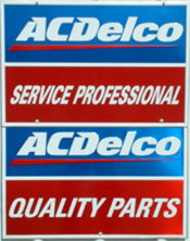 ACDelco Sign